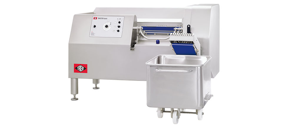 TWISTER BASIC Cube and Strip Cutting Machine